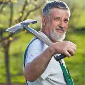 un jardinier une jardinière