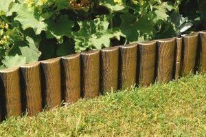 bordure en bois