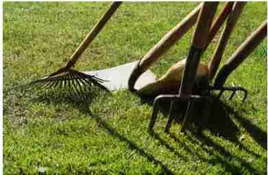 les outils pour jardiner