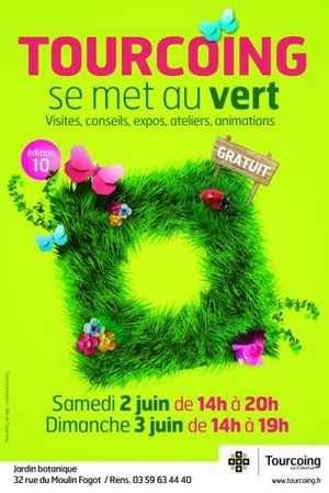 Tourcoing se met au vert, affiche de l'événement