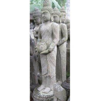 statue jardin zen