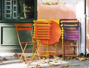 chaises bistro fermob