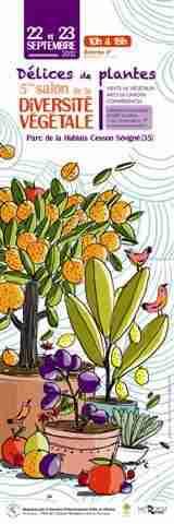 5ème salon de la diversité végétale, délice de plantes