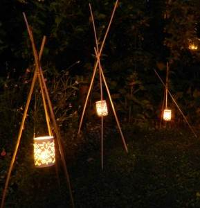 luminaires au jardin, comment éclairer son jardin