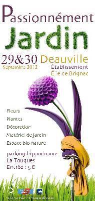 affiche passionnément jardin deauville septembre2012
