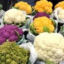 choux fleurs de toutes les couleurs, légumes d'antan