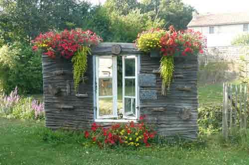 jardin potager de l'abbaye de celles sur belle