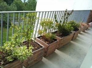 jardinières à poser pour balcon