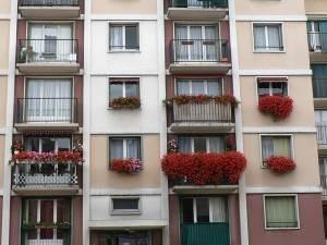 Joli balcon fleuri
