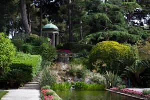 Jardin a la francaise de la Villa Ephrussi de Rothschild