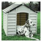 niche de chien avec dalmatien dedans