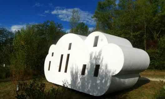 la maison nuage, habitats naturels