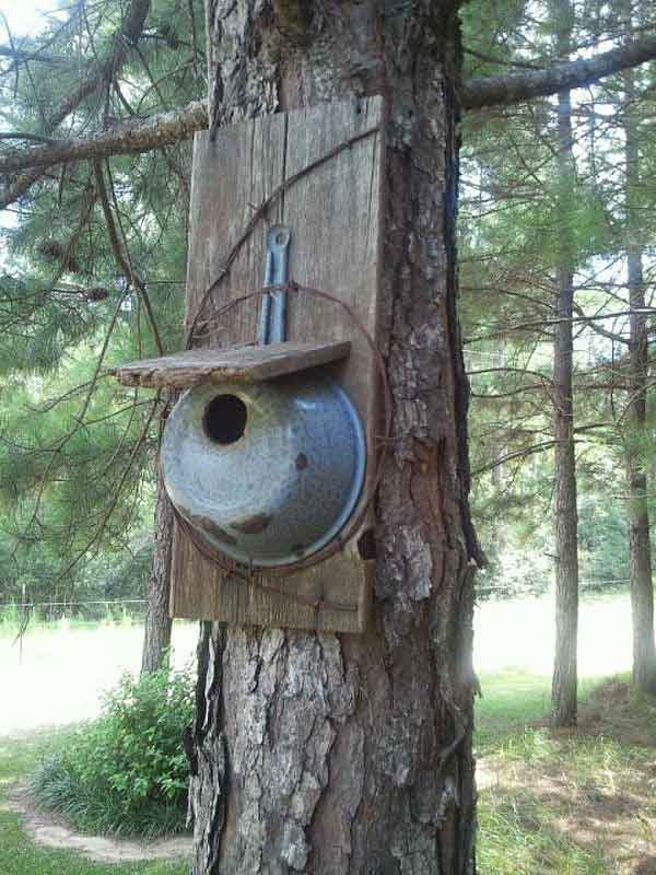 nichoir à oiseau artisanal