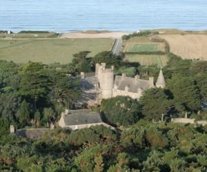 chateau et jardin normandie