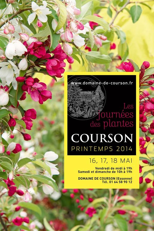 affiche journee des plantes courson mai 2014