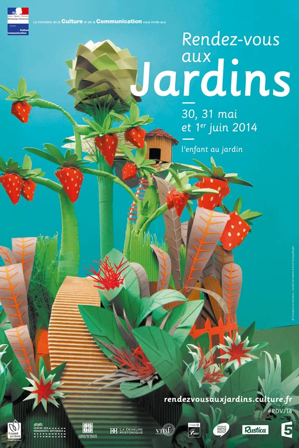 affiche rendez-vous aux jardins mai/juin 2014