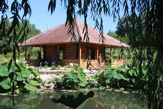 jardin des martels etang