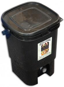composteur en seau pour compost Bokashi